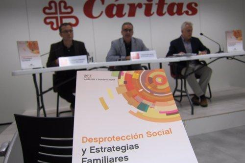 áritas constata un empobrecimiento de la pobreza en España con un 70% de hogares