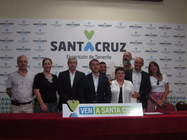 Presentación de Ven a Santa Cruz