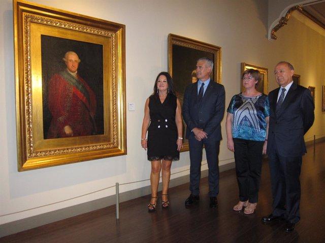 El retrato de Carlos IV se ha incorporado a la sala de los Goya en el Museo