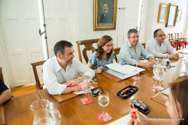 Castejón mantiene su su primera Junta de Gobierno Local