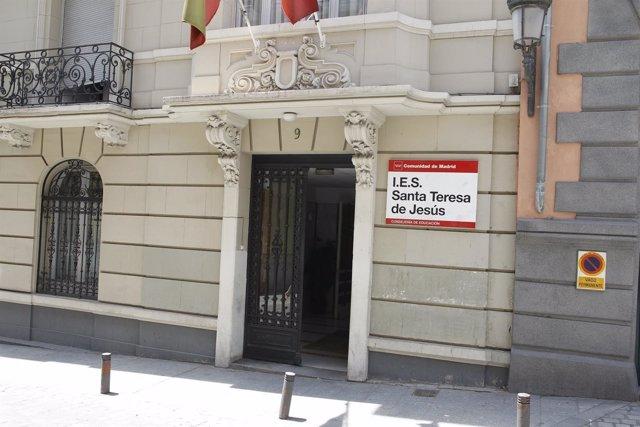 Instituto de Educación Secundaria (IES) Santa Teresa de Jesús en Madrid