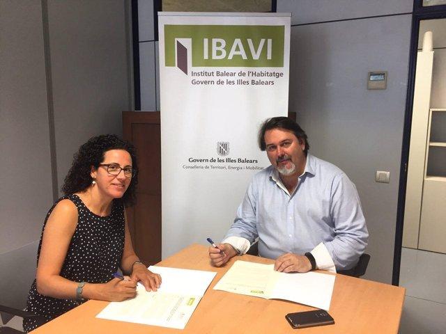 Firma de acuerdo entre IMAS y el Ibavi