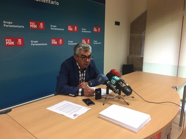 El diputado del PSdeG Raúl Fernández