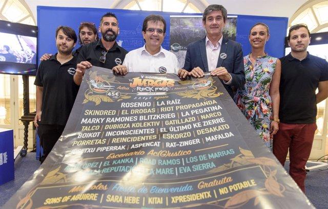 El Festival 'Juergas Rock' celebra su quinto aniversario con un cartel de nivel.