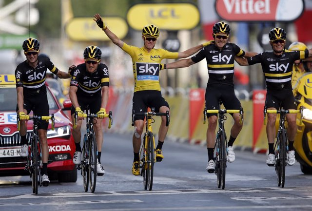El ganador del Tour de Francia 2016, Chris Froome