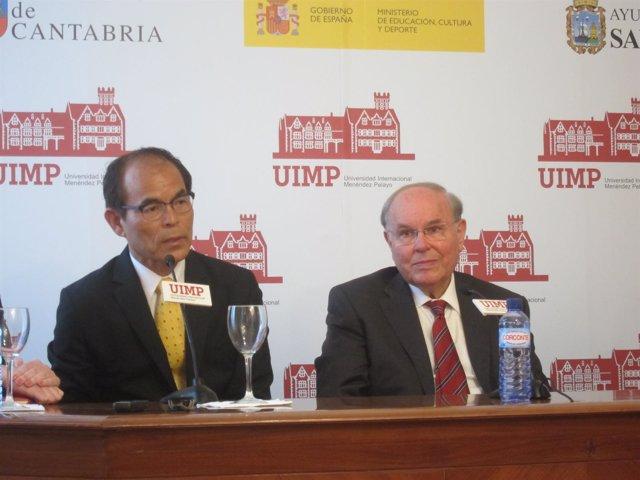 Nakamura en la UIMP