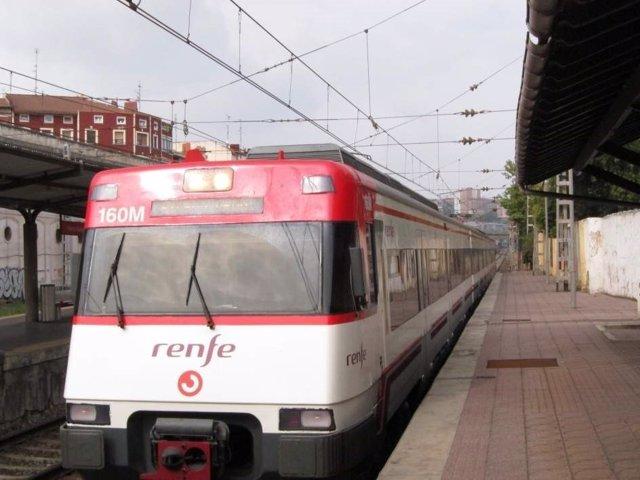 Tren de Cercanías en la provincia