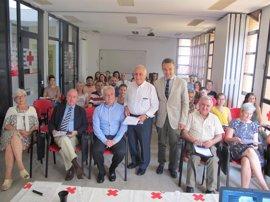 """Cruz Roja ha celebrado una jornada sobre """"buen trato a las personas mayores"""" para combatir el maltrato a este colectivo"""