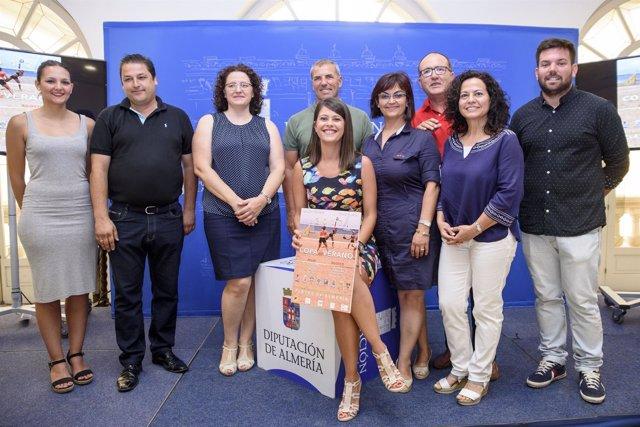 La Copa de Verano de Tenis Playa estará en siete municipios almerienses.