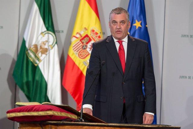 El nuevo consejero de Empleo, Empresa y Comercio, Javier Carnero