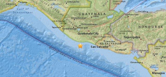 Terremoto de 6,8 en Guatemala