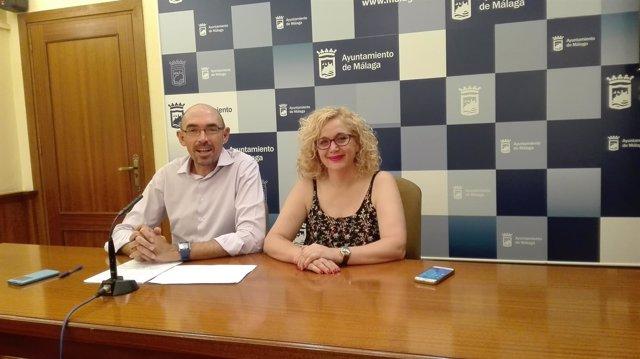 Málaga para la Gente, Eduardo Zorrilla, y Remedios Ramos