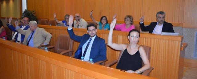 Pleno en el Ayuntamiento de Talavera