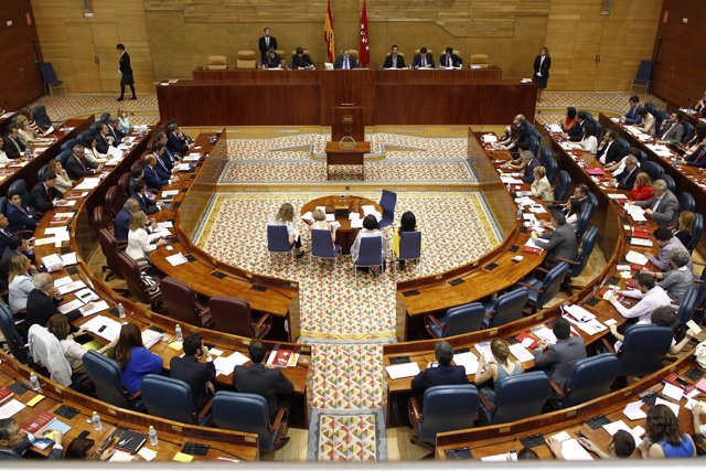 Constitución de la Asamblea de Madrid