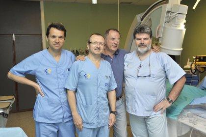 Premian a enfermeros del Hospital de Gran Canaria Dr. Negrín por un estudio sobre cateterismo