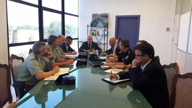 Primea reunión de Seguridad celebrada en La Línea