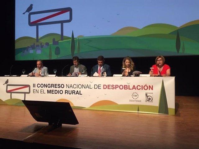 Rosario Cordero en II Congreso de Despoblación