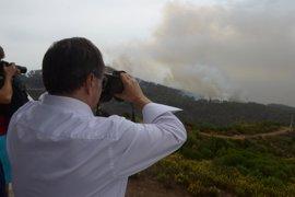 Multa de 1,5 millones a Defensa por el incendio forestal en 2015 en Ceuta