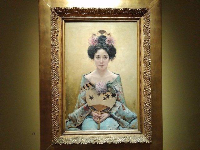 Exposición, Thyssen, centenario madama butterfly, japón