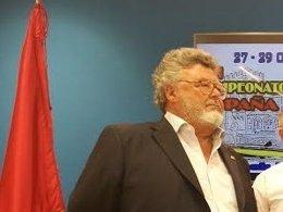 José Luis Bruna, presidente de la Federación Nacional de Pesca