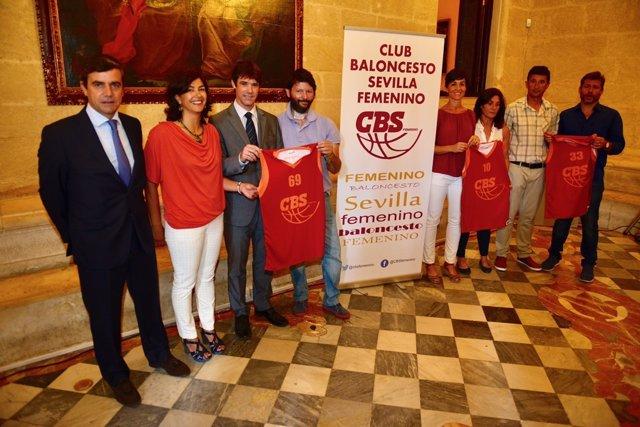 Nota De Prensa Y Foto Presentación Nuevo Club Baloncesto Sevilla Femenino