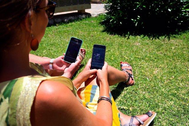 App sobre el sol en la piel