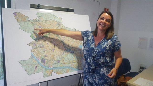La responsable de Seguridad ha presentado el nuevo mapa