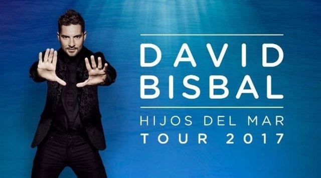 Cartel de la gira de David Bisbal