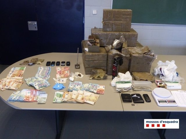 Desmantelan un punto de venta de droga en L'Estartit