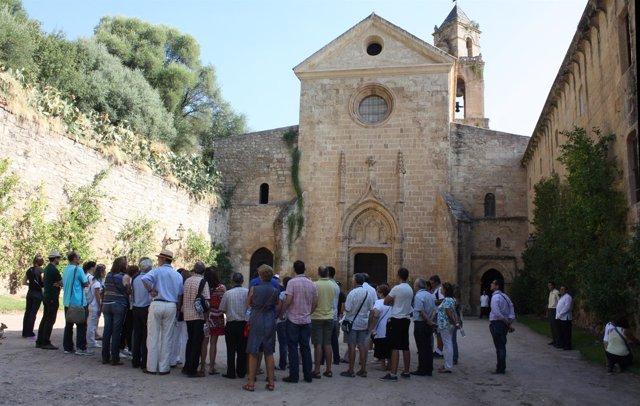 Exterior del Monasterio de San Jerónimo en una visita anterior
