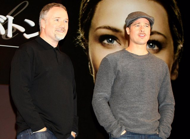 David Fincher y Brad Pitt
