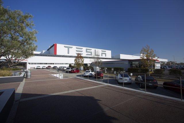 Planta de Tesla en Fremont (California)