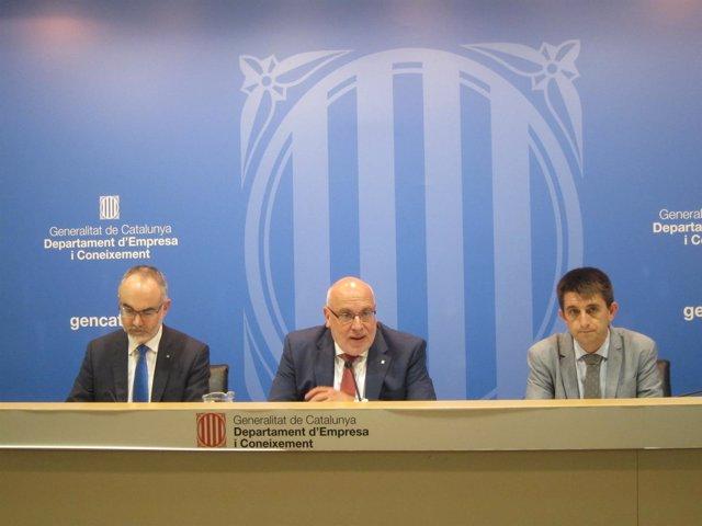 A.Navarro, J.Baiget y J.Pallarès