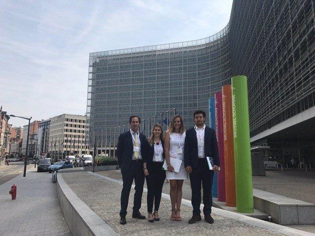 Bruselas.- Representantes de Rebi en Bruselas
