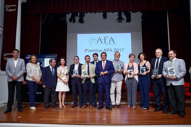Entrega de los Premios AFA