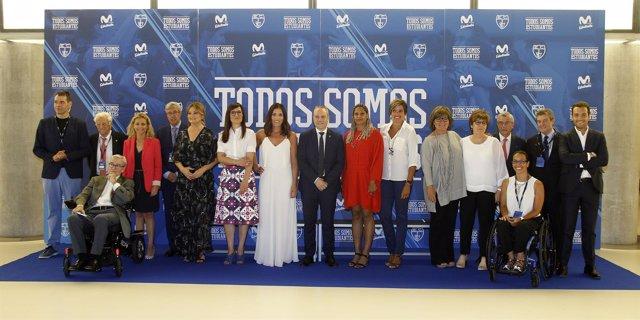 Movistar Estudiantes rinde tributo en los premios 'Todos Somos Estudiantes'