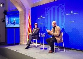 Puigdemont viaja este viernes a Francia para asumir la presidencia de la Eurorregión