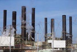La única central eléctrica de la Franja de Gaza reinicia sus trabajos a capacidad reducida