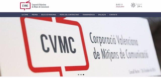 Nueva web de la CVMC