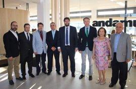 López Miras defiende la Región de Murcia como un espacio de libertad económica para seguir creando empleo