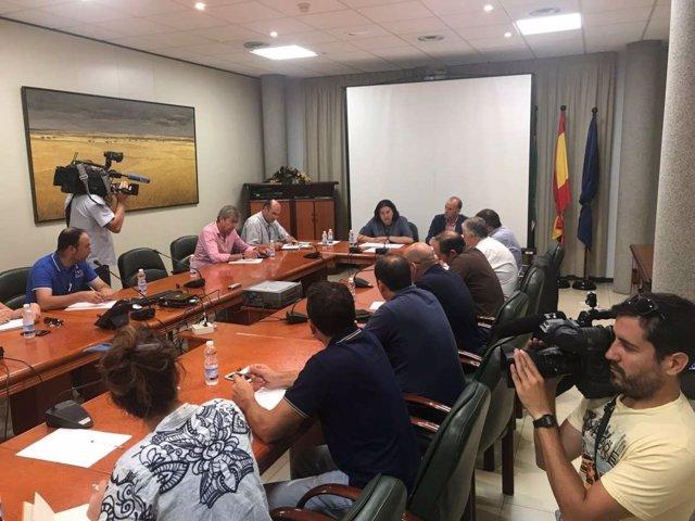 Encuentro alcaldes regadíos Tierra de Barros