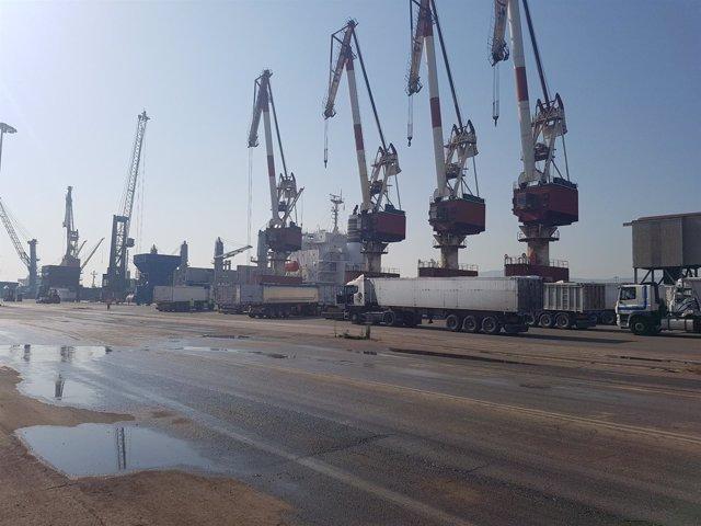 Puerto Santander huelga estiba