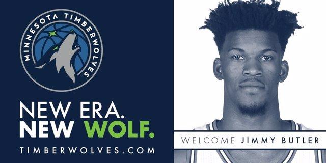 Jimmy Butler llega a Minnesota Timberwolves