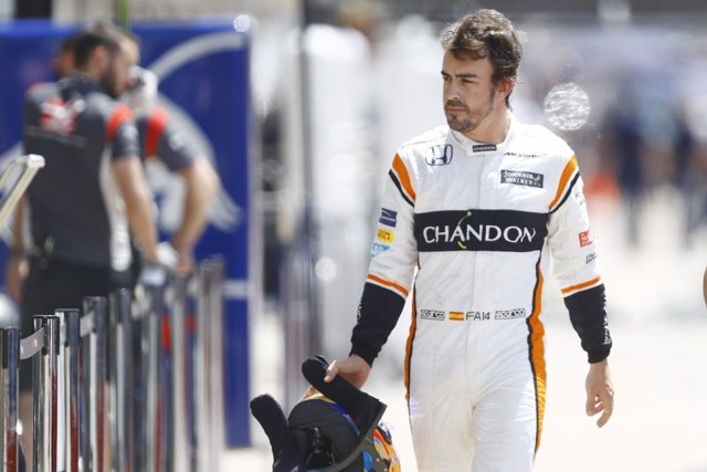 Fernando Alonso en Canadá (McLaren)