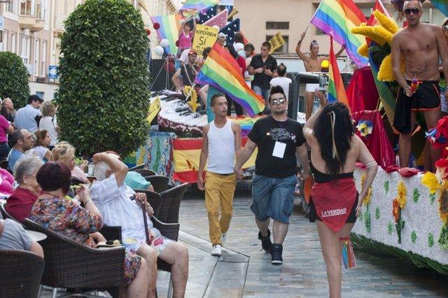 El desfile del Orgullo LGTB