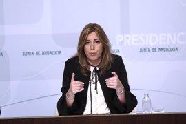 """Susana Díaz: """"No me queda más remedio que respetar"""" la posición del PSOE sobre el CETA"""