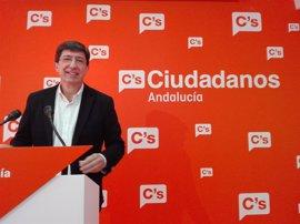 """Marín critica que PSOE-A """"no haya tenido el detalle"""" de plantearles la Ley LGTBI """"aunque sumen con Podemos"""""""
