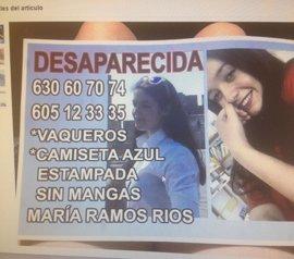 Sucesos.- La Guardia Civil dirige la investigación de la desaparecida en Renedo a Valladolid, donde se la ha visto