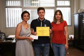 Un alumno del IES Felanitx gana un concurso sobre alimentos tradicionales de Baleares