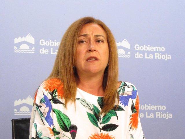 Portavoz del Gobierno, Begoña Martínez Arregui, en Consejo Gobierno